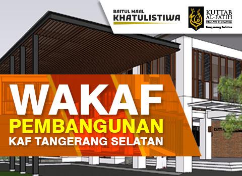 Pembangunan KAF Tangsel
