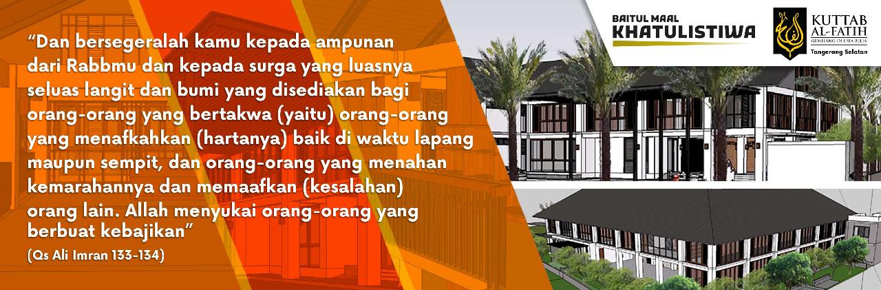 Banner Wakaf KAF Tangsel
